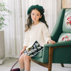 韓国子供服 I LOVE J アイラブジェイ ギャザースカート ij-JOFSK15-WA1C