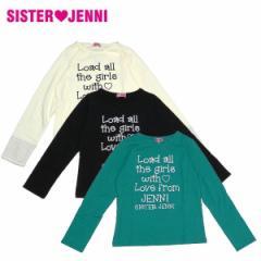 JENNI ジェニィ ジェニー 子供服 17秋冬 ベア天竺長袖Tシャツ je81830