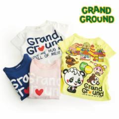 GRAND GROUND(グラグラ) 子供服 17春夏 グラランドT gg5171006
