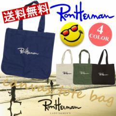 ロンハーマン★RonHerman 刺繍 ロゴ トートバッグ