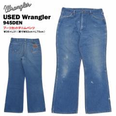 USED ラングラー 945 DEN ブーツカットデニムパンツ W36×L31 (実寸W82cm×L75cm) Made in U.S.A. (Wrangler 945 DEN)