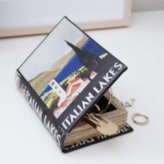 キッカーランド ブックボックス スモール 本型の収納ボックス / 小物入れ 鍵置き オブジェ 文房具入れ ステーショナリー