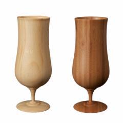 送料無料 RIVERET 竹製 ビールグラス ペアセットビアベッセル 木製 ギフトBOX入り / 日本製  / ペアグラス