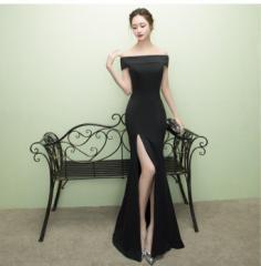 マーメイドドレス パーティー パーティドレス オフショルダー イブニングドレス ウェディング ロングドレス 二次会 披露宴 お呼ばれ
