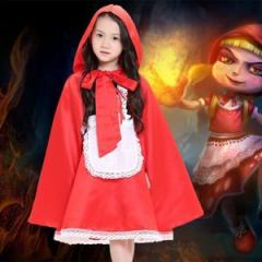赤ずきん コスプレ ハロウィン 衣装 子ども用 コスチューム 赤ずきんちゃん ハロウィン 衣装 女の子 コスチューム赤ずきん コスプレ衣装