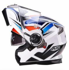 システムヘルメット フリップアップヘルメット バイクヘルメット PSC規格品  フルフェイスヘルメット ダブルシールド AK-919