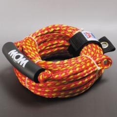 バナナボート、ロープ、トーイングロープ 1-2人乗用 破断強度:1,077kg ロープ径約10mm