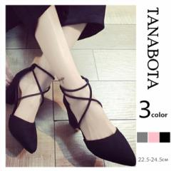 【tanabota】女 靴 レディースパンプス レースアップ靴 大人気サンダル 美脚 編み上げ サンダル ストラップ おしゃれ スファッション