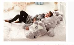 ワニ/鰐 ぬいぐるみ ワニ/鰐 特大 2色 160cm 大きい可愛いわに抱き枕/プレゼント/ふわふわぬいぐるみ