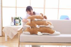 【送料無料】ぬいぐるみ シバイヌ   クッション 抱き枕 動物 柴犬 だきまくら プレゼント 雑貨 インテリア 贈り物100cm