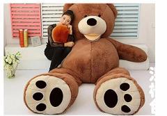 クマ ぬいぐるみ 特大 はじめしゃちょーぬいぐるみ 特大 くま/テディベア 可愛い熊 動物 130cm
