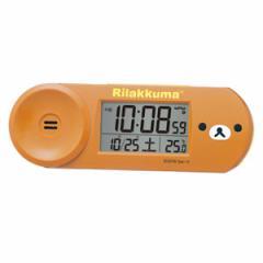 ◆SEIKO[セイコー] 目覚まし時計 【リラックマ デジタル電波クロック】 CQ147B