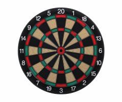 ダーツボード ソフトボード D.craft ディークラフト 15.5インチ Professional Board SATURN サターン グリーン/レッド 緑赤