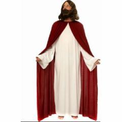 コスプレ 仮装 キリスト風コスチューム マント ローブ 2点セット フリーサイズ