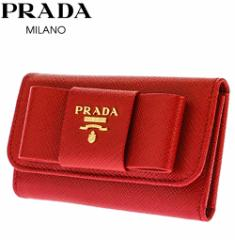 プラダ 6連 キーケース    1PG222 S/FIOCCO/FUOCO レディース リボン  PRADA [201611]