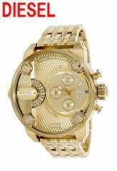 ディーゼル 腕時計 DZ7287 デュアルタイム クォーツ メンズ コールドカラー DIESEL [201610]