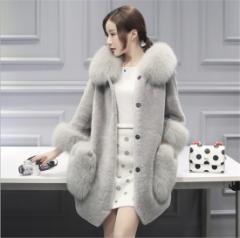 レディースコート ファーコート 防寒 アウター ジャケット 冬物 ふんわり コート秋冬 軽量 美スタイル ボレロコート ウェディング
