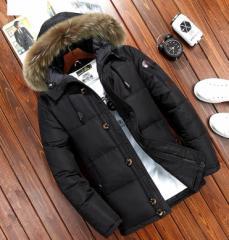 大人気 メンズ ダウンコートダウンジャケット 帽子付き 冬用 学生 ★アウター 防寒 ★通勤