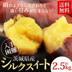 【送料無料】【さつまいも】【サツマイモ】【芋】茨城県産さつまいも シルクスイート 約2.5kg(gn)