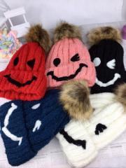 ニット帽★新品★ レディース ニット帽 メンズ 冬 帽子 韓国風 可愛い 人気 ファッション ニット帽子(6色)