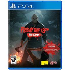 【送料無料(ネコポス)・即日出荷】PS4 Friday the 13th The Game 13日の金曜日 (輸入版:北米版)  090850