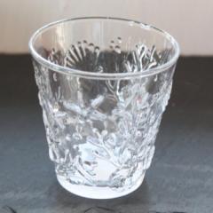 【キッチン雑貨】 翌日出荷 シェル柄グラス Cleaマリン雑貨 ナチュラル コップ ガラス パイナップル