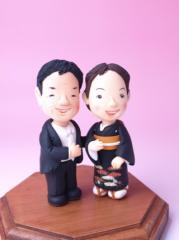 メモリーズクレイ2体セット プロ絵本作家が作るそっくり人形・オリジナルフィギュア・似顔人形【送料無料】