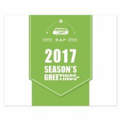 韓国スターグッズ B.A.P(ビーエーピー) 2017 シーズングリーティング (卓上用カレンダー+ダイアリー+ポスターカレンダー+はがき6種 外)