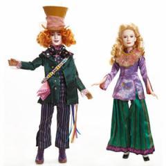 (先払いのみ)海外グッズ ディズニー 公式商品 「アリス・イン・ワンダーランド/時間の旅」 アリス&マッドハッター ドール 人形
