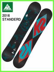 2016 K2 STANDERD 152cm ケーツースノーボード