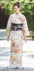 ジャパンスタイル(Japan Style)仕立て上がり洗える着物 訪問着 kimonoJL-41