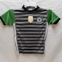 子供用 K115 ドイツ 緑しま 17 ユニフォーム パンツ付/選手選択/クロ−ゼ/ポドルスキ/サッカー/キッズ/上下セット/ゲームシャツ