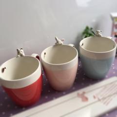 マグカップ アウトレット  ねこ いぬ うさぎ  美濃焼 マグカップ 日本製  猫 ねこ グッズ
