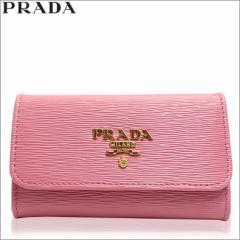 プラダ PRADA キーケース 6連 ライトピンク 1pg222-vimo-geranio アウトレット