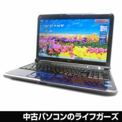 富士通 ノートパソコン Windows7 64bit Corei7 2630QM RAM4GB HDD750GB 15.6型ワイド ブルーレイ 無線LAN HDMI FMV AH/77/C 中古PC 156