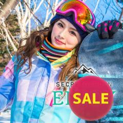 【SALE】送料無料【15-16 SECRET GARDEN ENJOY(エンジョイ)Type-B】レディース スノーボードウェア上下セット