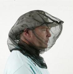 蜂 網 ネット 養蜂用具 蜂対策/特製面布/網保護帽/防虫ネット付帽子用/ヘルメット取付式防蜂ネット 安心 蜂対策 【B506】メール便不可