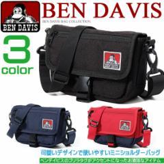 BEN DAVIS ショルダーバッグ ベンデイビス メッセンジャーバッグ ゴリラタグ クッションバッグ 男女兼用 BEN-716