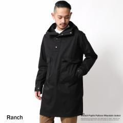 マウンテンパーカー プルオーバー メンズ モッズコート ロング ストレッチ Ranch ランチ RA17-001 6946【pre_d】