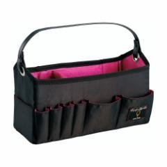 コジット(COGIT) 洗える持ち運び便利コスメバスケット ブラック ピンク (メイク道具入れ/ポーチ) 【ファッション】 【美容】