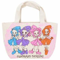 ◆おジャ魔女どれみ# マチ付きコットンバッグ/なかよし(プレゼント、贈り物、お土産,キャラクターグッツ通販、アニメキャラ