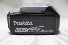 マキタ[makita]18V-6.0Ah リチウムイオンバッテリ BL1860B/純正