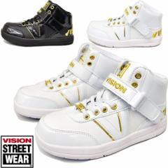 VISION ヴィジョン ビジョン ダンスシューズ キッズ ダンススニーカー ハイカット 子供靴 スニーカー VKO 501
