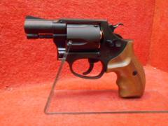 マルシン・S&W M36 チーフスペシャル 2インチ 木製グリップ HW 6mmBB Xカートリッジ仕様【cat031】