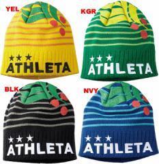 アスレタ ATHLETA 16FW ニットキャップ 05191 帽子 サッカー フットサル 倉庫在庫