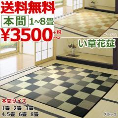い草 カーペット ござ 3畳 本間 /IGチェック/ 191×286cm 高級 両面 【 送料無料 】