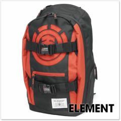 【セール 25%OFF!】ELEMENT エレメント スケートボード・バックパック MOHAVE ELITE / AG022-950 ブラック×レッド