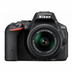 NIKON/ニコン D5500 18-55 VR II レンズキット [ブラック] デジタル一眼レフカメラ 【新品】  送料無料