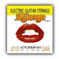 K.GARAGE エレキギター弦 010-046