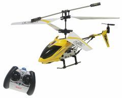 3chメタルヘリコプター 室内用 (黄)  ジャイロ機能搭載 ラジコンヘリ 即納!!